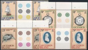 1979 James Cook sor ívközéprészes párokban Mi 237-240