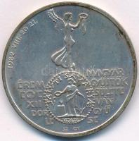 Szolláth György (1927-) / Vadász György / ÁPV 1982. MÉE XII. Vándorgyűlése Szombathely / Marcus Aurelius Ag emlékérem nem eredeti tokban (34,73g/0,640/42,5mm) T:1-