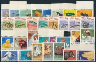 1962-1964 4 Animals set, 1962-1964 4 klf Állat sor