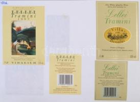 Dél-balatoni borok. Kb 300 darabos magyar borcímke gyűjtemény. Mind különféle. / Collection of Hungarian wine labels
