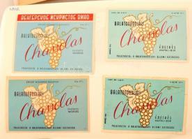 Dél.balatoni borvidék Óriási, Kb 1100 darabos magyar borcímke gyűjtemény. Mind különféle. / Collection of Hungarian wine labels