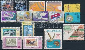 1979-1999 UPU 4 sets + 4 stamps, 1979-1999 UPU motívum 4 klf sor + 4 klf önálló érték