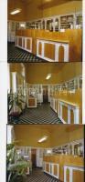 1981 Budapest, V. ker., Néphadsereg u. 16. GYÓGYSZERTÁR, 8 db szabadon felhasználható vintage negatív (6x7 cm) és az ezekről készült mai nagyítás, 10x15 cm