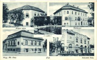Tab, Strandfürdő, adóhivatal, takarékpénztár, polgári iskola