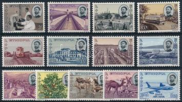 Forgalmi 13 érték (Mi 506, 512 hiányzik / missing) Definitive 13 stamps (Mi 506, 512 missing)