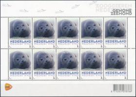 Én bélyegem megszemélyesíthető bélyeg; Fóka öntapadós kisív, Seal self-adhesive minisheet