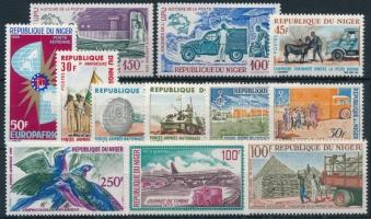 1963-1973 12 db klf bélyeg, közte sorok