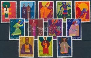 1967-1968 Church patron saints set, 1967-1968 Templomi védőszentek sorok