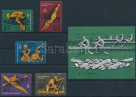 Summer Olympics, Moscow (V) set + block, Nyári olimpia, Moszkva (V) sor + blokk