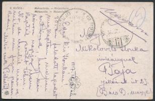 1917 Tábori posta képeslap / Field postcard HP 171