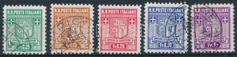 Campione 1944 Forgalmi sor Mi 1-5