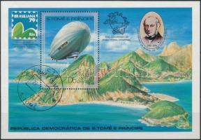 International Stamp Exhibition, BRASILIANA block, Nemzetközi bélyegkiállítás, BRASILIANA blokk