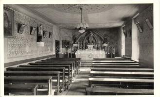 Nyergesújfalu, Szalézi Intézet, kápolna, belső