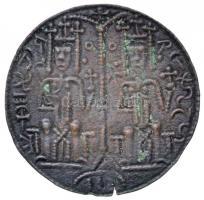 1172-1196. Rézpénz Cu III. Béla (1,86g) T:2- kis ki. Huszár: 72., Unger I.: 114.