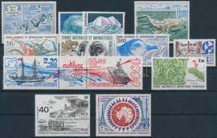 Complete year 1 stamp missing, Teljes évfolyam 1 bélyeg kivételével