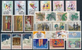 1991-1992 8 sets + 1 stamp, 1991-1992 8 klf sor + 1 önálló érték