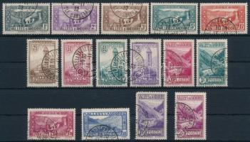 1932/1939 Tájak, látnivalók 15 db klf érték 1932/1939 Landscapes, attractions 15 diff stamps
