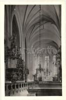 1940 Kolozsvár, Cluj; Szent Mihály templom belső / church interior, photo