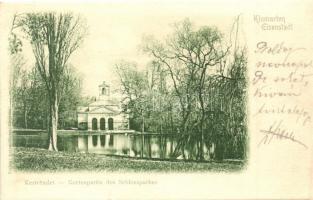 Kismarton, Eisenstadt; Kert részlet a Várkertben / castle park