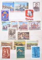 Szovjetunió gyűjtemény 8 lapos közepes berakóban