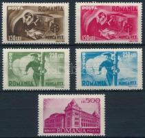 Postal services closing values (Mi 867-868 missing), Postai szolgáltatások záróértékek (Mi 867-868 hiányzik / missing)