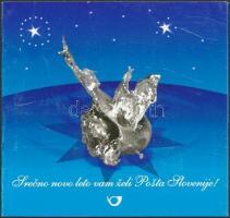 Karácsony és Újév: Ólomöntés bélyegfüzet, Christmas and New Year's Day: Lead Casting stamp-booklet