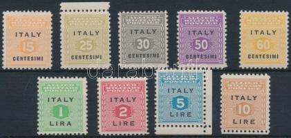 Szövetséges megszállás 1943 Szicília sor Mi 1-9