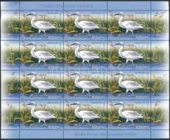 Danube Delta birds mini sheet, Duna-delta madarak kisív