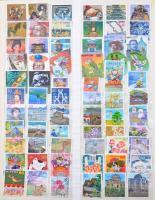 Tartalmas Japán gyűjtemény rendkívül erős modern résszel házi készítésű albumban, továbbá 2 db 16 lapos A/4 berakóban ( ezekben másodpéldányok és egyéb országok bélyegei is vannak).