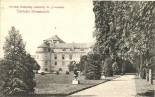 Körmend, Herceg-Batthyány várkastély és park (Rb)