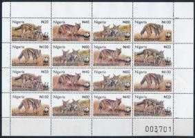 2003 WWF: Sakál kisív Mi 762-765