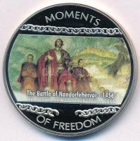 Libéria 2004. 10$ Szabadság pillanatai - A nándorfehérvári ütközet 1456 multicolor T:PP Liberia 2004. 10 Dollars Moments of Freedom -The Battle of Nándorfehérvár 1456 multicolor C:PP