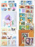 Párhuzamosan gyűjtött postatiszta és bélyegzett gyűjtemény 1966-1976 jobb kiadásokkal 20 lapos Abria rugós berakóban. Magas katalógus érték!!