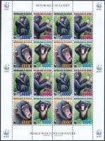 2006 WWF: Csimpánz kisív Mi 4222-4225 A