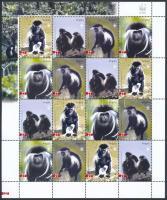 2004 WWF: Majmok kisív Mi 1745-1748