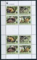 WWF Pangolin mini sheet, WWF: Tobzoska kisív