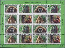 2008 WWF: Majmok kisív Mi 2062-2065 A