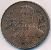 Fritz Mihály (1947-) 1992. Wekerle Sándor, Mór szülöttje emlékére / Gyűjtők Egyesülete - Mór Br emlékérem T:1- Adamo MR1