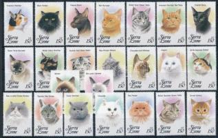1993 23 klf Macska bélyeg