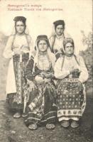 Hercegovinai népviselet / Herzegovina folklore (EB)