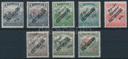 Bánát-Bácska 1919 Arató/Köztársaság sor garancia nélkül (42.200)