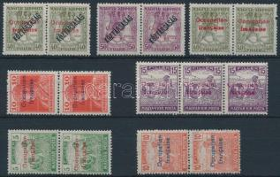 Arad 1919 6 klf pár és egy hármascsík garancia nélkül (72.200)