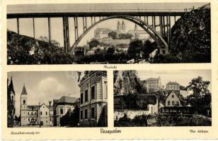 Veszprém, Viadukt, Szentháromság tér, Vár