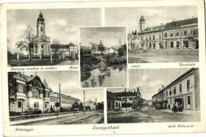 Szentgotthárd, Dohánygyár, apátsági templom és rendház