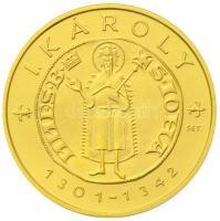 2012. 10.000Ft Au I. Károly aranyforintja (3.49g/0.986) T:PP Hungary 2012. 10.000 Forint Au Goldgulden of Charles I (3.49g/0.986) C:PP  Adamo EM249