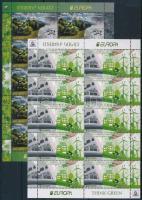Europa CEPT, Környezettudatosság kisív sor Europa CEPT,  Environmental awareness mini sheet set