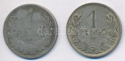 1926-1938. 1P Ag (2x) T:2,2-,3 patina, ph. Adamo P6