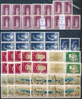Magyar összeállítás, benne 233 db kiadás, közte sorok kisívek és blokkok 5 db berakólapon (~150.000)