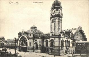 Köln, Cologne; Hauptbanhof / railway station