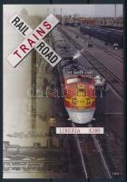 Trains block, Vonatok blokk